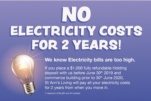 St Ann's Living Electricity Deal